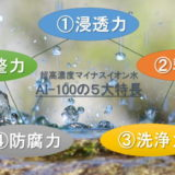 サビない電解還元性イオン水