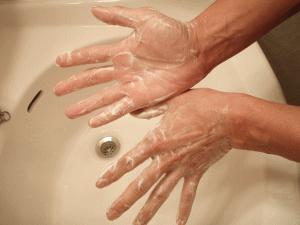 洗顔料の泡立て方法